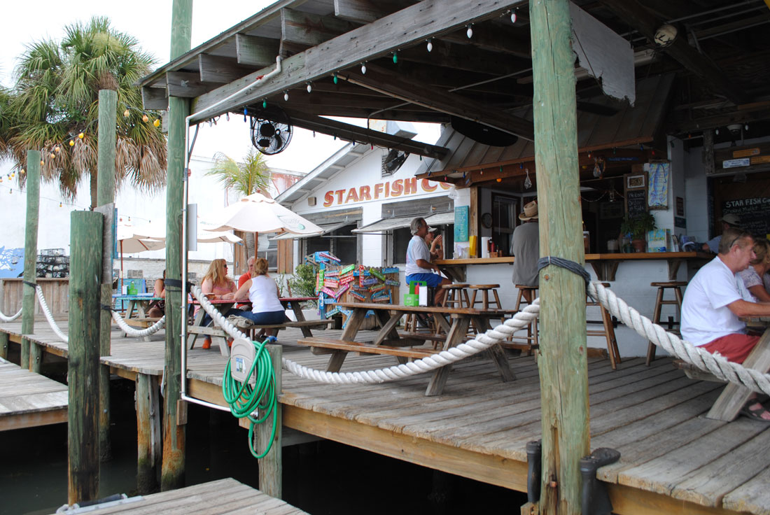 Florida vacation destination Cortez Fishing Village