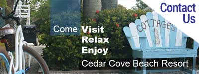 Find Accommodations | Cedar Cove Beach Resort