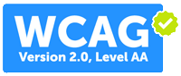 WCAG Version 2.0, Level AA Compliant